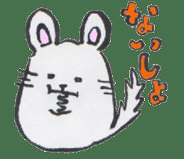 chinchilla sticker #2814792