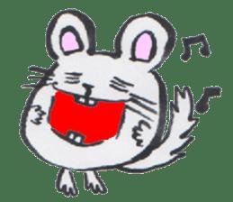 chinchilla sticker #2814795