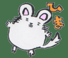 chinchilla sticker #2814796