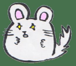 chinchilla sticker #2814800