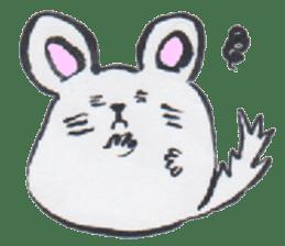 chinchilla sticker #2814802
