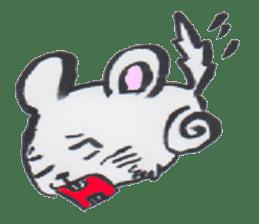 chinchilla sticker #2814805