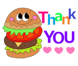 COLORFUL FOOD Sticker sticker #2814892