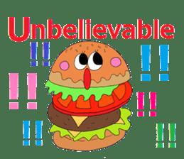 COLORFUL FOOD Sticker sticker #2814928
