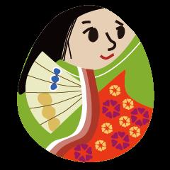 Kimono Egg Dolls