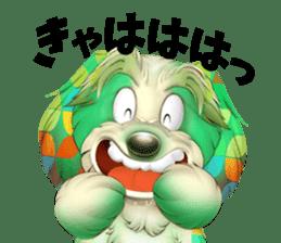 colorful bowwow sticker #2820861