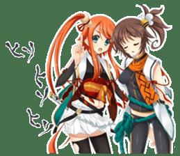 SENGOKU KIHIME sticker #2822963