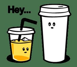 Take Out Coffee sticker #2824973