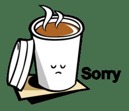 Take Out Coffee sticker #2824977