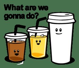Take Out Coffee sticker #2824984