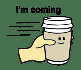 Take Out Coffee sticker #2824994