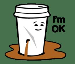 Take Out Coffee sticker #2824997
