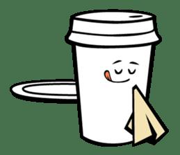 Take Out Coffee sticker #2825008