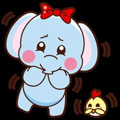 Emy the funny elephant