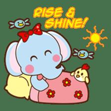 Emy the funny elephant sticker #2825332