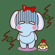 Emy the funny elephant sticker #2825334