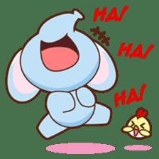 Emy the funny elephant sticker #2825337