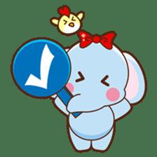 Emy the funny elephant sticker #2825345