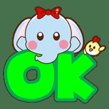 Emy the funny elephant sticker #2825347