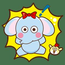 Emy the funny elephant sticker #2825348