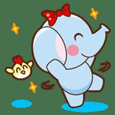 Emy the funny elephant sticker #2825349