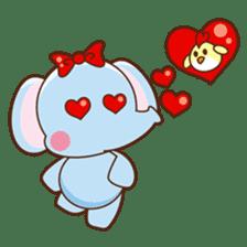 Emy the funny elephant sticker #2825351