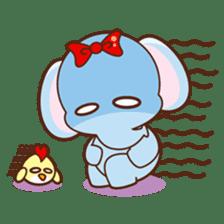 Emy the funny elephant sticker #2825354