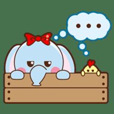 Emy the funny elephant sticker #2825355