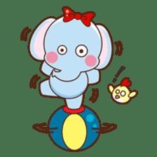 Emy the funny elephant sticker #2825357