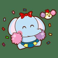 Emy the funny elephant sticker #2825359