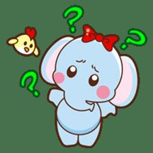 Emy the funny elephant sticker #2825360