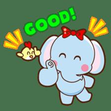 Emy the funny elephant sticker #2825361