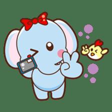 Emy the funny elephant sticker #2825362