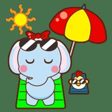 Emy the funny elephant sticker #2825363