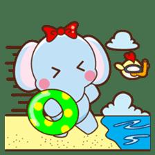 Emy the funny elephant sticker #2825364