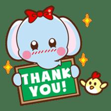 Emy the funny elephant sticker #2825366