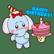 Emy the funny elephant sticker #2825367