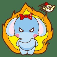 Emy the funny elephant sticker #2825370