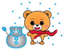 Kyuuma The Teddy Bear sticker #2842547