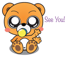 Kyuuma The Teddy Bear sticker #2842550