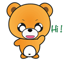 Kyuuma The Teddy Bear sticker #2842552