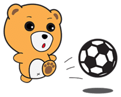 Kyuuma The Teddy Bear sticker #2842555