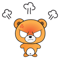 Kyuuma The Teddy Bear sticker #2842572