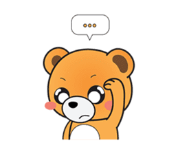 Kyuuma The Teddy Bear sticker #2842574