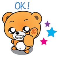 Kyuuma The Teddy Bear sticker #2842579