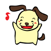 สติ๊กเกอร์ไลน์ naughty dog