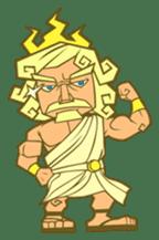 Awkward Zeus sticker #2847843