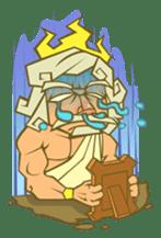 Awkward Zeus sticker #2847844