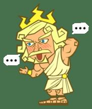 Awkward Zeus sticker #2847846