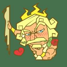 Awkward Zeus sticker #2847851